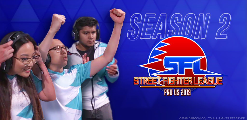 STREET FIGHTER LEAGUE: Pro-US 2019 Season 2, Episode 8: Week Eight Recap
