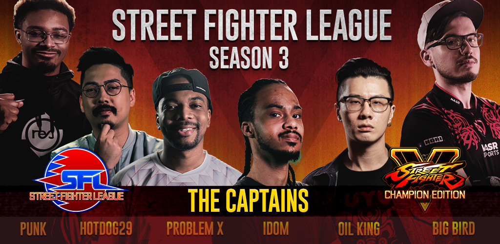 2020 Street Fighter League Captains Announcement