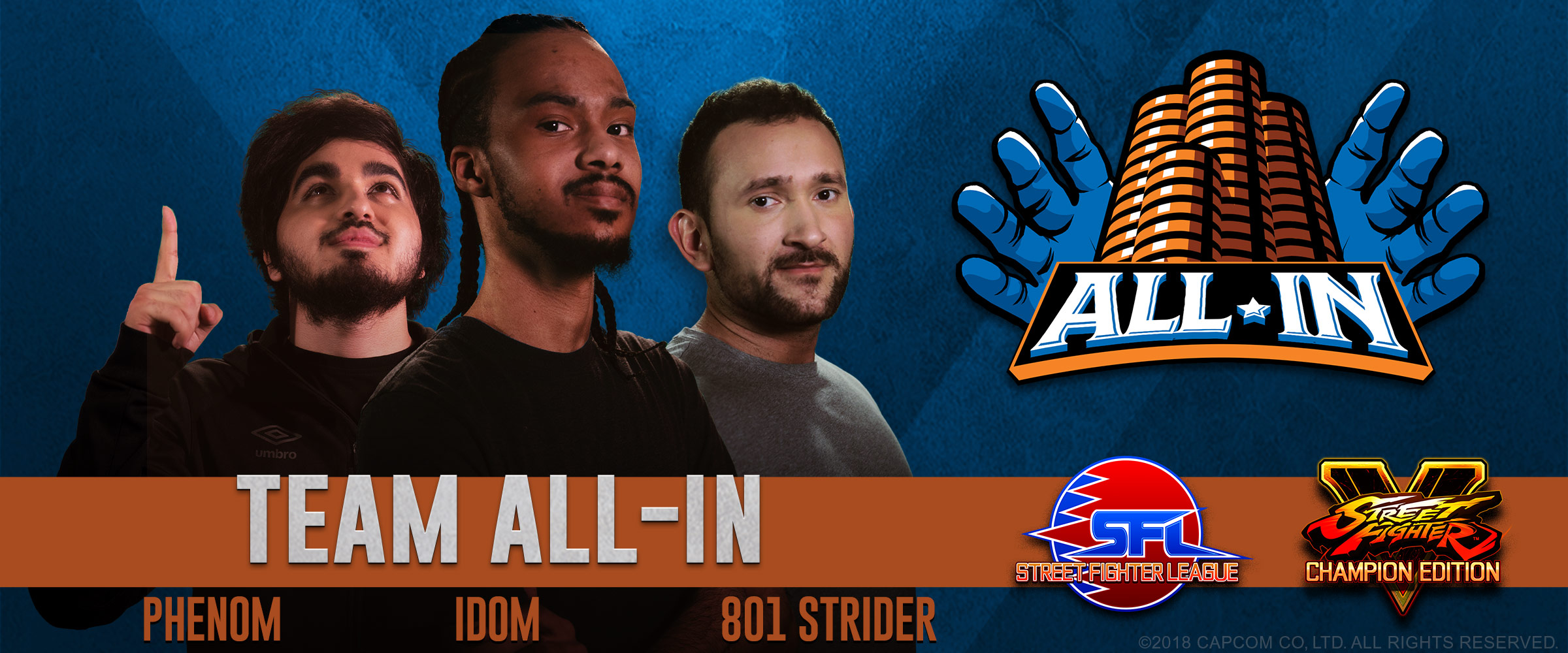Introducing Team All-In