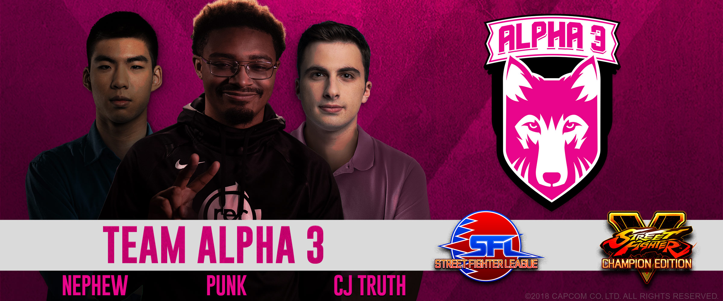 Introducing Team Alpha 3