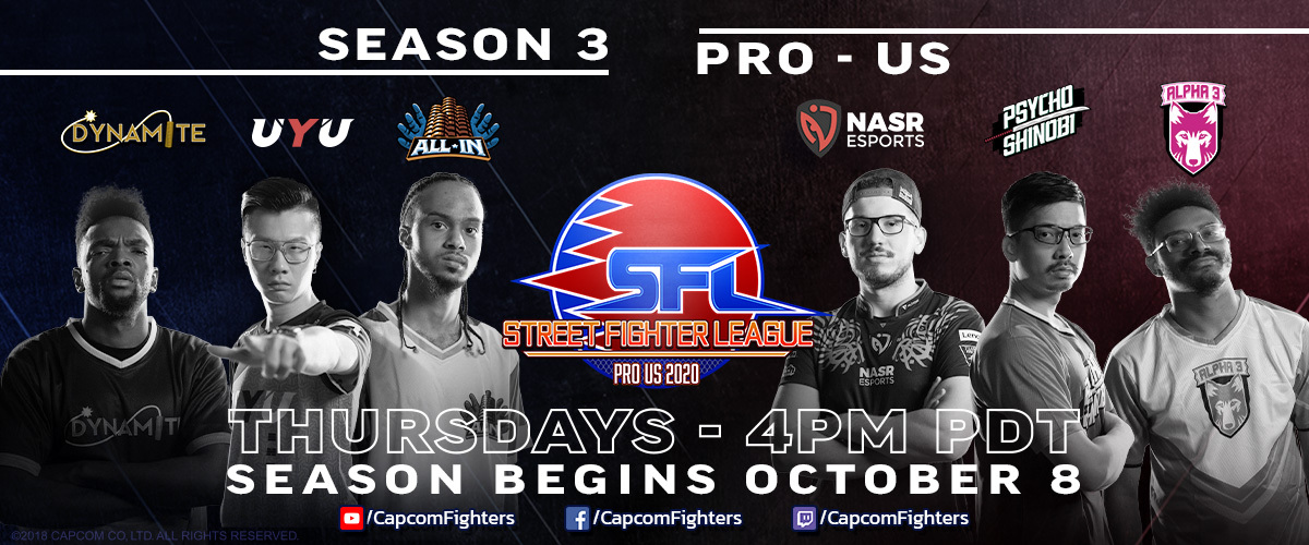 SFL Season 3 Teams