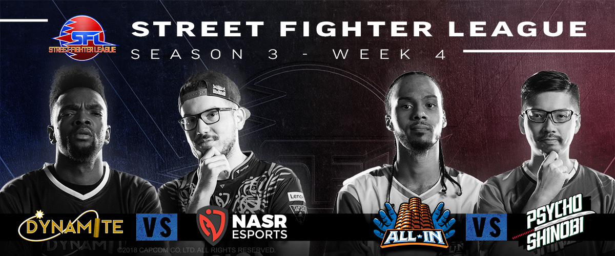 STREET FIGHTER LEAGUE: PRO-US 2020 SEASON 3 WEEK FOUR RECAP