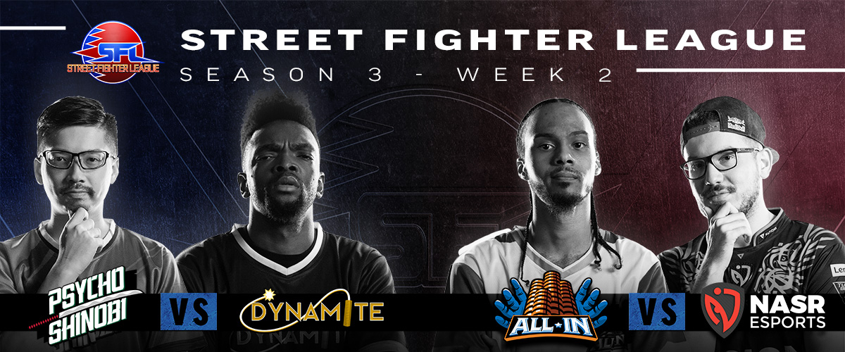 STREET FIGHTER LEAGUE: PRO-US 2020 SEASON 3 WEEK TWO RECAP