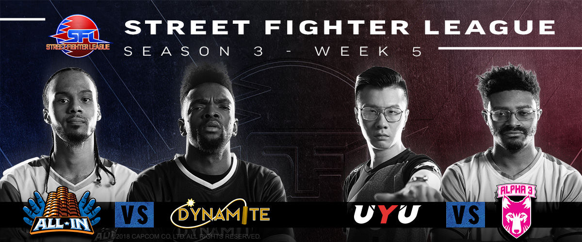 STREET FIGHTER LEAGUE: PRO-US 2020 SEASON 3 WEEK FIVE RECAP