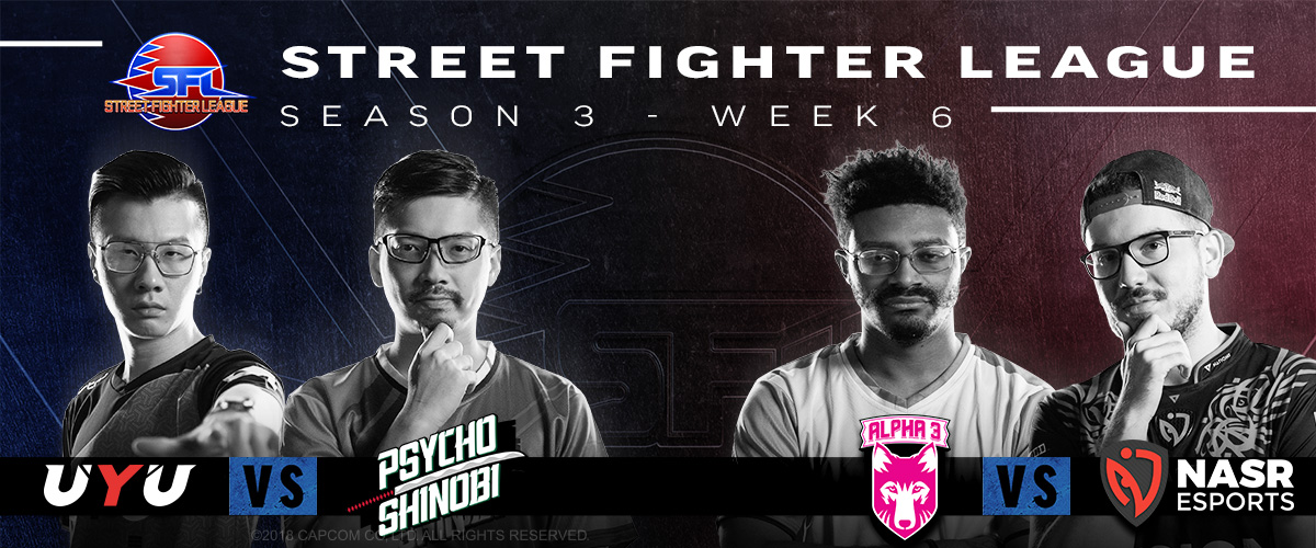 STREET FIGHTER LEAGUE: PRO-US 2020 SEASON 3 WEEK SIX RECAP