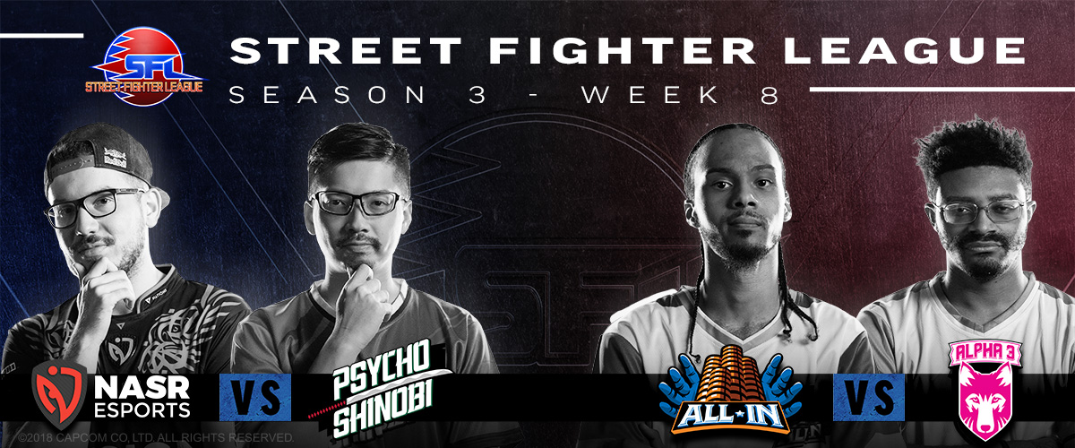 STREET FIGHTER LEAGUE: PRO-US 2020 SEASON 3 WEEK EIGHT RECAP